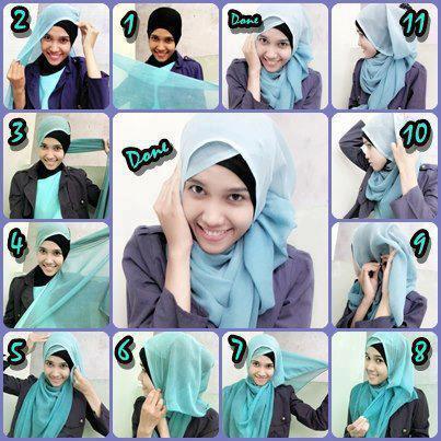 cara memakai jilbab segi empat, tutorial jilbab segi empat, jual jilbab segi empat 081326212750
