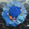 bros cantik lucyta blue,bros handmade modern terbaru murah cantik