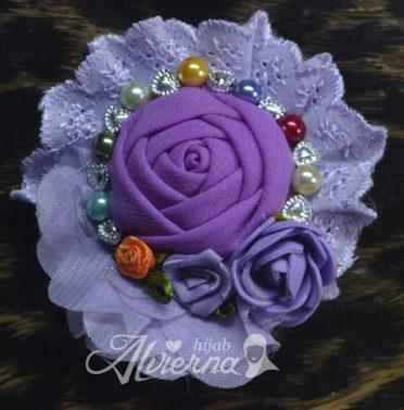 bros cantik lucyta violet handmade modrn terbaru murah cantik