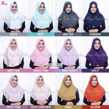 Jilbab Serut Polos Jokowi Jersey 0813-2621-2750