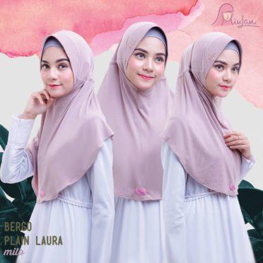 BPL Miulan Bergo Plain Laura Serut Jokowi Milo 0813-2621-2750